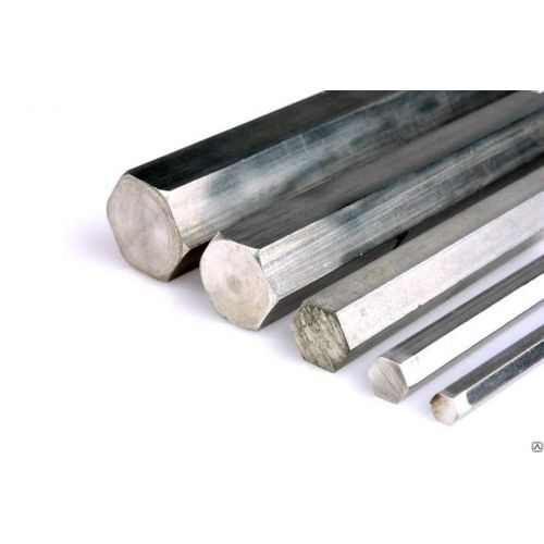 Aluminum hexagon Ø 13-36mm Aluminum hexagonal rod, selectable 6-sided aluminum rod, hexagonal, aluminum