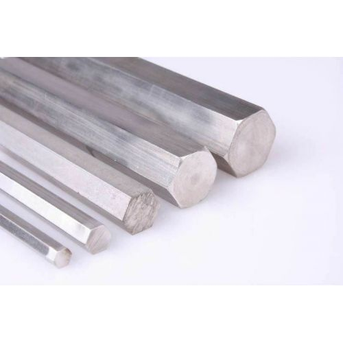 Stainless steel hexagon SW 18mm-60mm 1.4305 rod hexagon VA V2A 303 hexagon rod, stainless steel