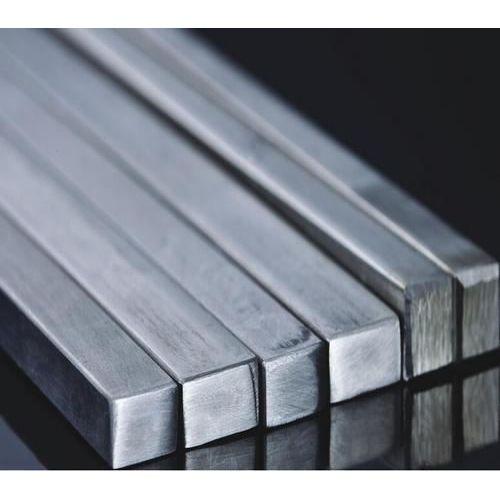 Stainless steel square rod bar full material square bar profile bar V2A,  stainless steel