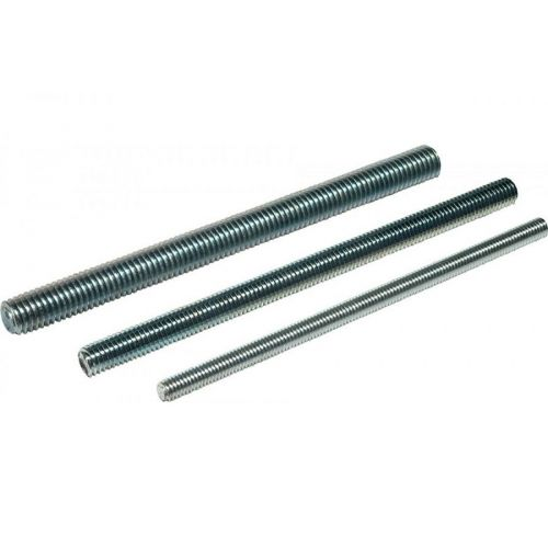 Threaded rods stainless steel M2-M24 round rod 1.4301 V2A 304 threaded rod 1 meter,  stainless steel