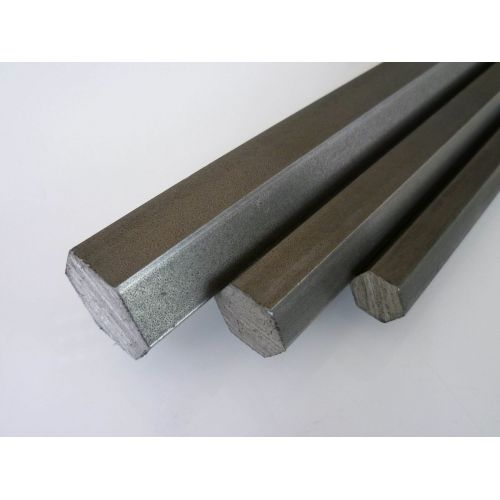 Stainless steel hexagon SW 4mm-17mm 1.4305 rod hexagon VA V2A 303 hexagon rod, stainless steel