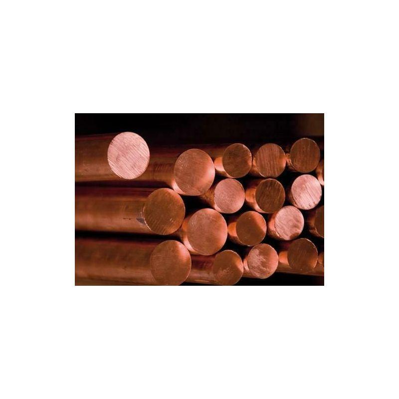 Rod Ø2-25mm copper 2.0090 round rod С10999 rod Cu round material 2 meters, copper