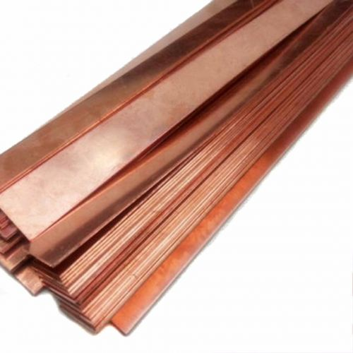 Copper phosphor 99% pure anode sheet 10x200x50-10x200x1000mm electroplated electrode,  copper