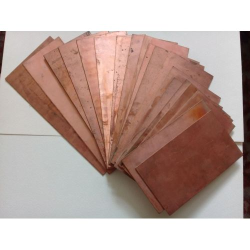 Copper 99.9% pure anode sheet plate 10x200x50-10x200x1000mm raw electroplating electrode,  copper