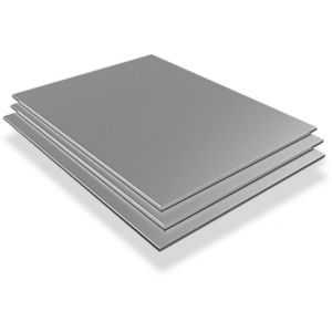 Stainless steel sheet 0.6mm V2A 1.4301 plates sheets cut to size 100 mm to 2000 mm, stainless steel