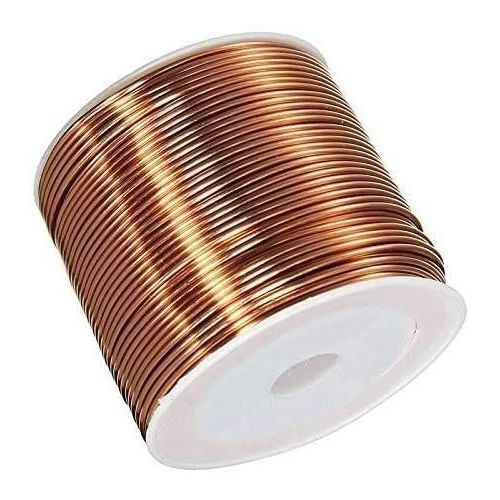 Copper wire Ø0.05-2.8mm enamelled wire Cu 99.9 wnr 2.0090 craft wire 2-750 meters, copper