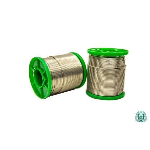 Soldering tin Sn99Cu1 dia 1.5mm with liquid 2.5% lead-free 25gr-1kg, welding and soldering