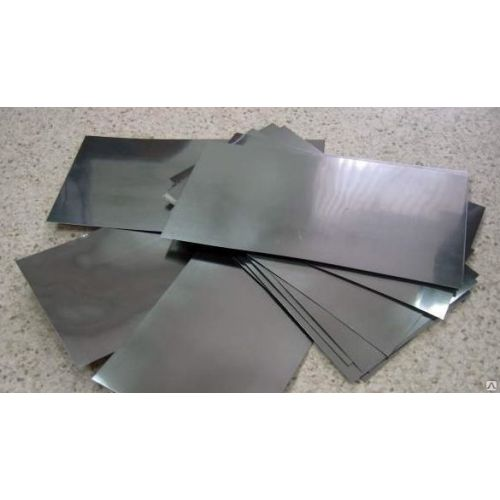 Cadmium 99.9% pure anode sheet metal plate 6x300x50-8x300x500mm electroplating electrolysis