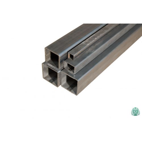 Square tube steel tube hollow profile steel square tube dia 12x12x1.5 to 100x100x3 2.5-5 meters