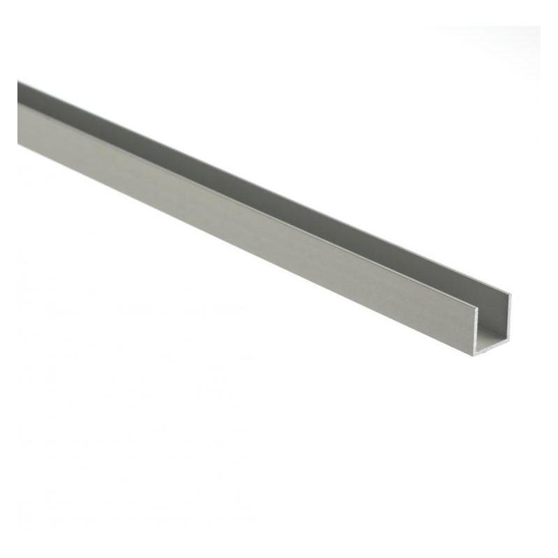 Aluminum U-profile isosceles 30x20x2mm-80x20x2mm aluminum angle
