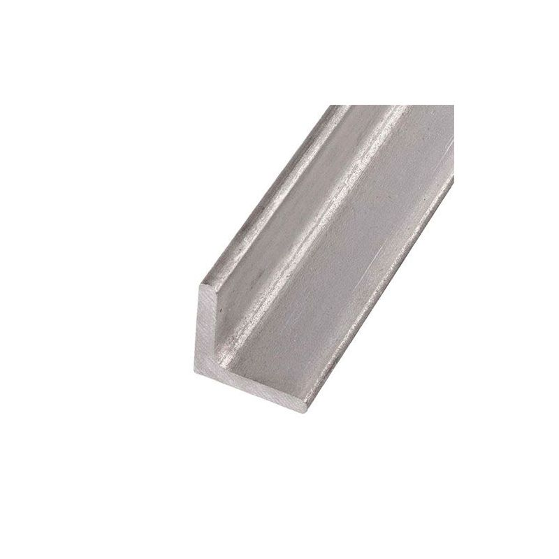 Stainless steel L-profile angle isosceles 40x40x4mm-60x60x6mm 0.25-2 Met