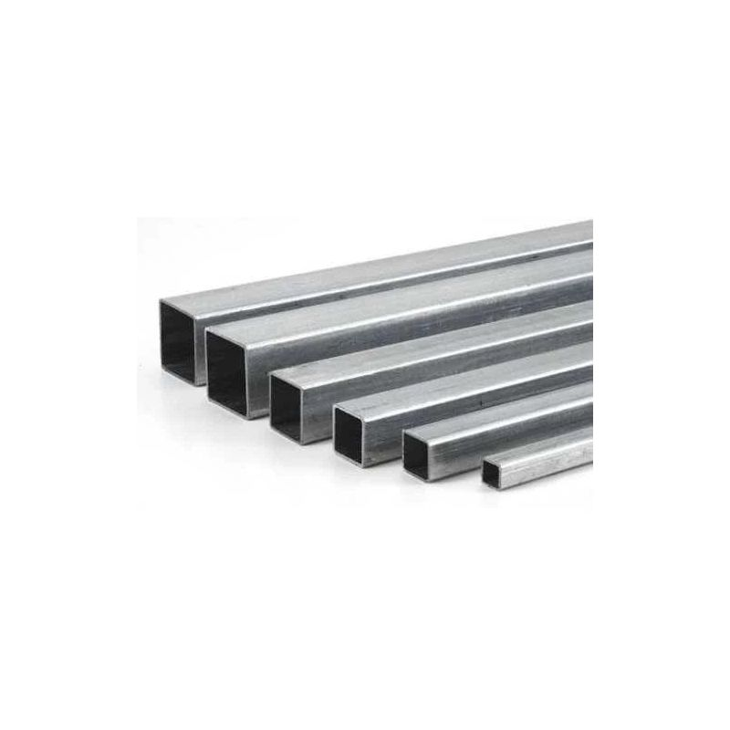 Stainless steel 304 square tube 20x20x1.5mm-160x80x3mm square tube 2 meters