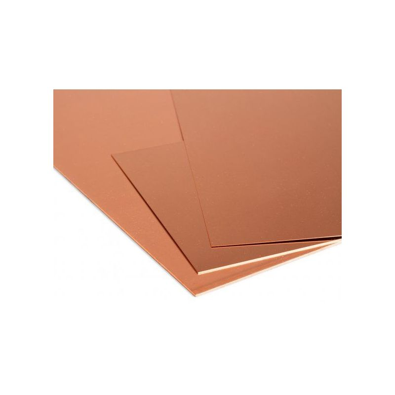 Copper sheet 1mm plates Cu sheet thin sheet selectable 100mm to 2000mm