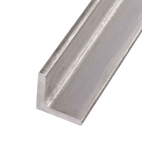 Stainless steel L-profile angle isosceles 40x40x4mm 0.25-2 Met