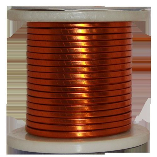 Flat wire enamel Ø 5-18mm copper wire W200 flat bar Cu 99.9% enameled wire craft wire