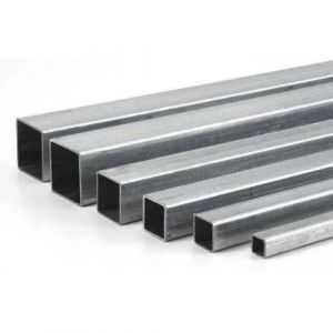 Stainless steel 304 square tube 20x20x2mm-60x60x2mm square tube 2 meters