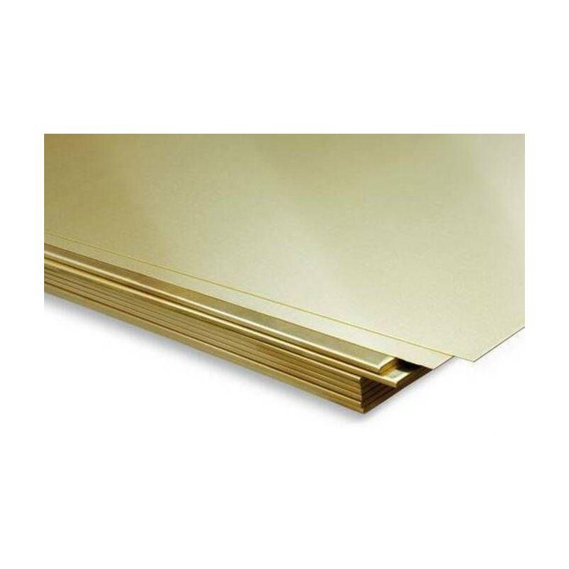 Brass sheet 0.5mm-2mm sheets sheet metal thin sheet selectable 100mm to 1000mm