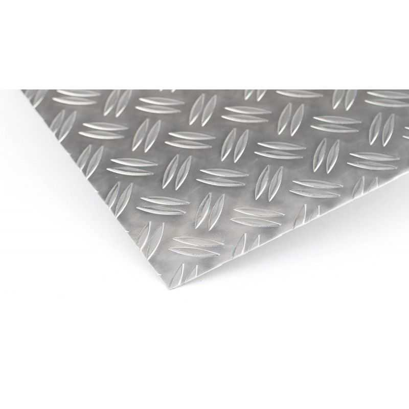 Aluminum checker plate 1.5 / 2mm - 5 / 6.5mm Duett plates Al sheets Aluminum plate thin sheet