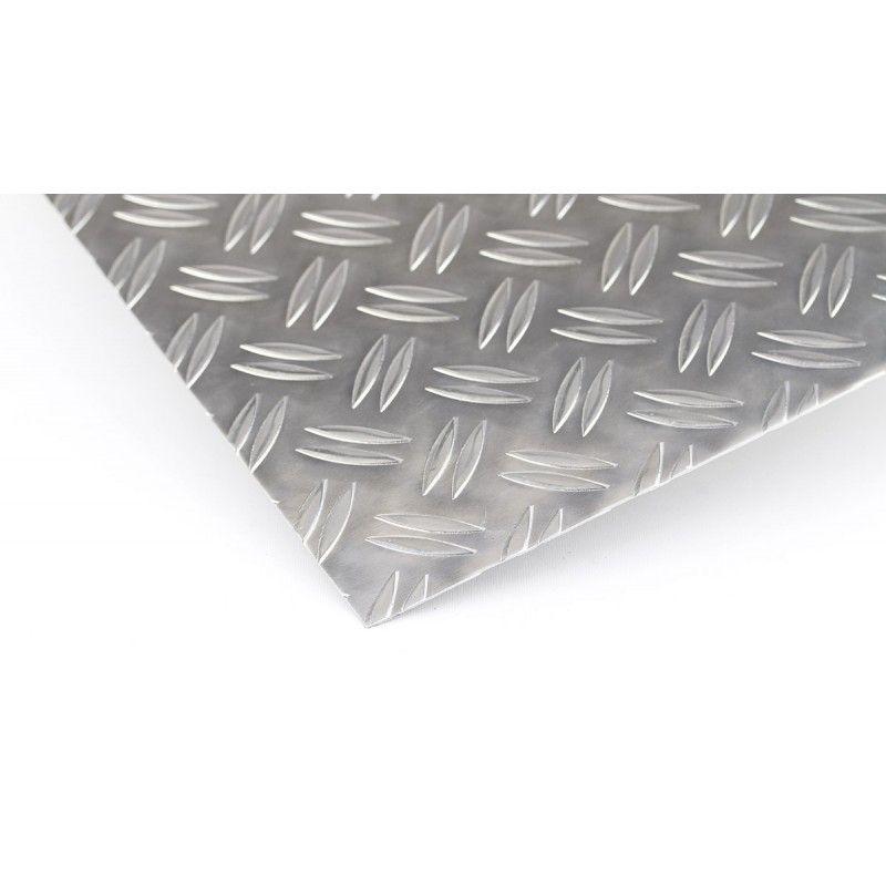 Aluminum checker plate 1.5 / 2mm Duett plates, Al plates, aluminum plate, thin sheet