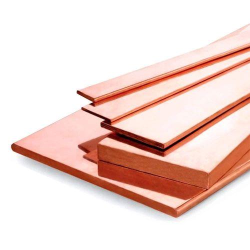 Copper flat bar 30x2mm-90x12mm strips of sheet metal cut to length 1 meter