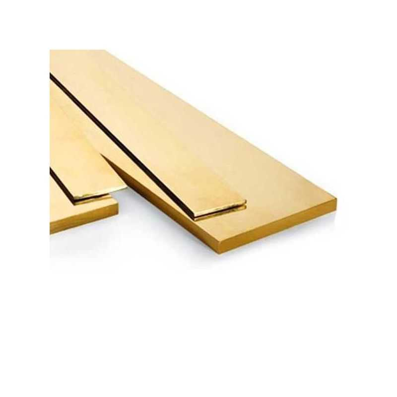 Brass flat bar 30x2mm-90x12mm strips of sheet metal cut to 0.5 meters