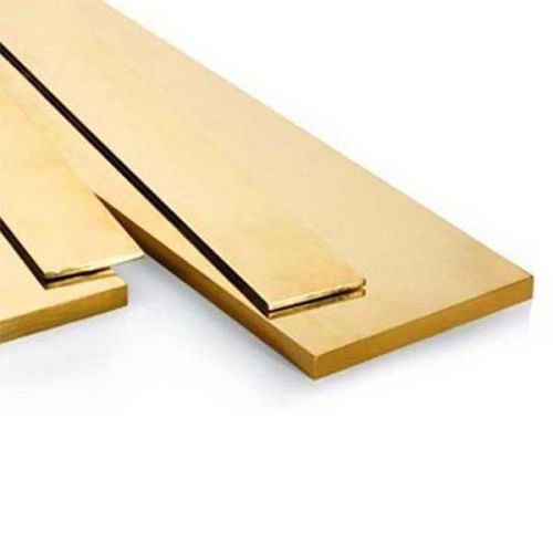 Brass flat bar 30x2mm-90x10mm strips of sheet metal cut to 0.5 to 2 meters
