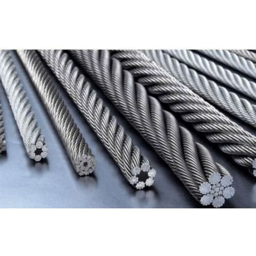 Stainless steel wire rope 1-8mm V4A 1.4401 316 7x7 and 7x19 steel rope 5-250 meters