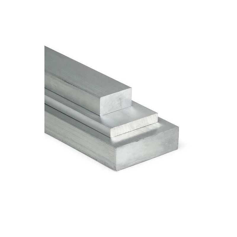 Aluminum flat bar 30x2mm-90x10mm AlMgSi0.5 flat material aluminum profile from 0.5 to 2 meters