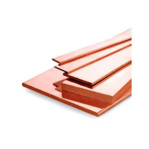 Copper flat bar 30x2mm-90x5mm strips sheet metal cut to size 0.5-2 meter plate