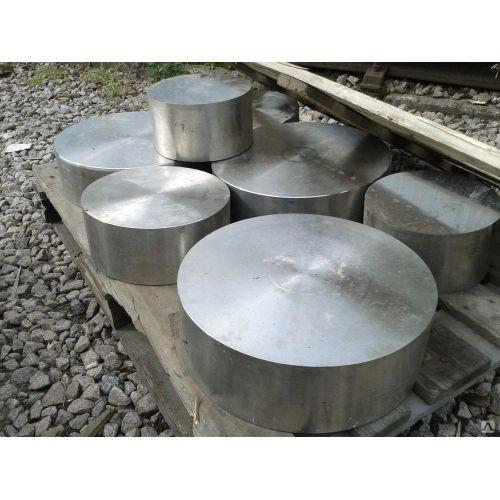 Stainless steel round sheet 20mm 1.4571 round disc 316Ti round steel rod Ø 100-300mm
