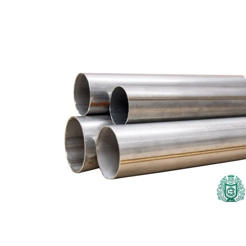 Stainless steel pipe Ø 50x1.2-65x1mm 1.4828 round pipe 309 V2A exhaust railing 0.25-2 meters, stainless steel