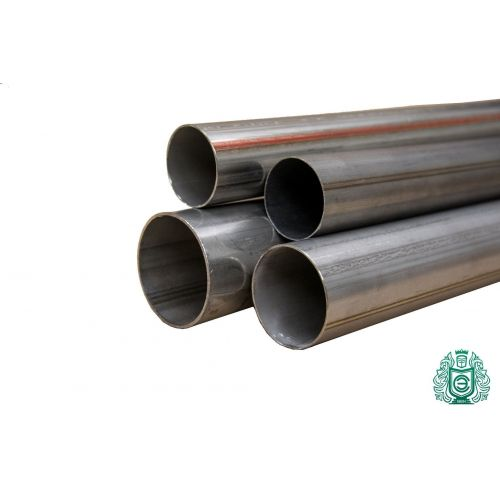 Round pipe 1.4301 Aisi 304 Ø15x2.5-101.6x2mm stainless steel pipe V2A exhaust railing 0.25-2 meters, stainless steel