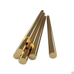 Brass round rod. Application & characteristics of the material
